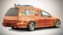 Holden recently became the latest car manufacturer to announce it will no longer make cars in Australia. The Sandman panel van, pictured, is perhaps its most stereotypically Australian concept car. (Holden)