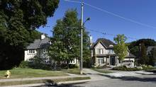 68 Baby Point Rd., Toronto, left, is seen on Thursday. Residents in the area worry it will be torn down by its new owner. (Fred Lum/The Globe and Mail)