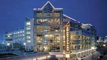 The exterior of the Chicago Shakespeare Theater on Navy Pier, where it overlooks Lake Michigan. (The Associated Press)