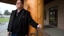 Grand Chief Doug Kelly, Chair of the First Nations Health Council, poses for a photograph at the Sto:lo Nation Health Services building in Chilliwack, B.C., on Friday February 1, 2013. (DARRYL DYCK For The Globe and Mail)
