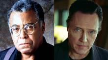 James Earl Jones (left) and Christopher Walken