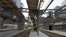 The old steel arches that span the shed are too low. (Fred Lum/The Globe and Mail)