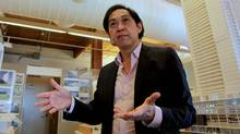 Architect Bruce Kuwabara (Rosa Park for The Globe and Mail)