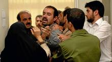 "Shahab Hosseini in a scene from ""A Separation."" (Habib Madjidi/AP Photo/Sony Pictures Classics)"