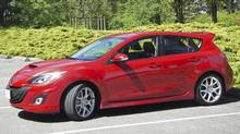 2010 MazdaSpeed3 (TED LATURNUS FOR THE GLOBE AND MAIL)
