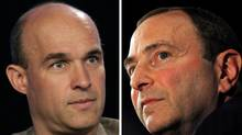 Canadian billionaire Jim Balsillie and the NHL are the only remaining bidders for the Phoenix Coyotes. Balsillie and Bettman could go head to head in Friday's auction.