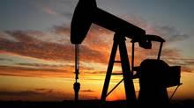 Oil well pump (Getty Images/Hemera)