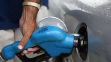 Pumping gas in Miami, Fla. (Joe Raedle/Joe Raedle/Getty Images)