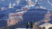 You'll find the Grand Canyon nearly deserted in the winter months, it's a great time to explore. (Rob Schumacher/AP)