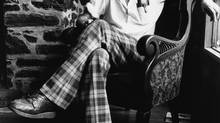 Canadian poet Al Purdy at home in Prince Edward County, circa 1978 (Dennis Robinson for The Globe and Mail)