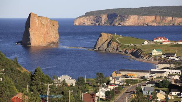 Percé village, Gaspé (Getty Images/iStockphoto)