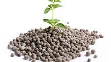 Nitrogen fertilizer, seen here in granules, is closely tethered to the price and supply of natural gas. (photos.com)