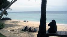 A few tourists are returning to Banda Aceh, but the beaches remain uncrowded.