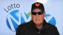 Tom Crist won the $40-million Lotto Max jackpot on May 3 and claimed the prize Monday Dec. 16, 2013. He plans to give it all to cancer charities. (Handout)