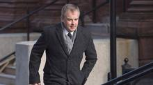 Dennis Oland arrives at Court of Queen's Bench in Saint John, N.B., on Tuesday, Jan. 3, 2017. (Andrew Vaughan/THE CANADIAN PRESS)