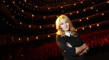 Author J.K. Rowling is one of the ultrarich, but her wealth came from a unique effort, unlike CEOs cashing in on soaring executive pay. (CARLO ALLEGRI/REUTERS)