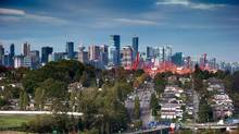 The downtown Vancouver skyline. The recommendations from 60 Syrian refugess, between the ages of 15 and 24, are part of a report released Tuesday by the non-profit Immigrant Services Society of B.C. (DARRYL DYCK For The Globe and Mail)