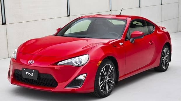 in pictures  2014 scion fr-s an entertaining and lightweight sports car