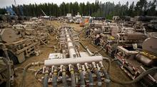 Trican Well Service's horizontal fracking well in Alberta. (Trican)