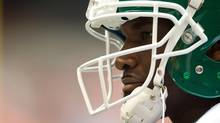 Darian Durant was sidelined for the only Grey Cup victory of his career. (DARRYL DYCK/THE CANADIAN PRESS)