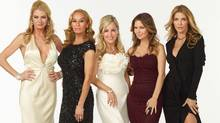 Cast of The Real Housewives of Vancouver (From left to right: Christina, Reiko, Jody, Mary and Ronnie) (Handout/Handout)