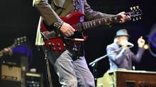 Tom Petty performs with The Heartbreakers in Milwaukee, Wis., last Saturday. (Cindy Barrymore/REX/Rex Feature Ltd.)