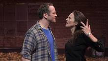 The Damage Done by George F. Walker stars Wes Berger (as Bobby) and Sarah Murphy-Dyson (as Tina). (Michael Cooper)