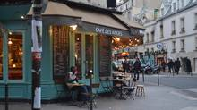 Life goes on for locals in Bastille weeks after the terrorist attacks in Paris in 2015. (Naomi Carniol)