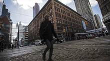 Hudson's Bay Co said this week it would sell its flagship downtown store to Cadillac Fairview, in order to open a Saks department store in the space. (Mark Blinch/Reuters)