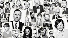 Publicity shot for the seventh season of Mad Men, which begins April 13. (Frank Ockenfels 3/AMC)