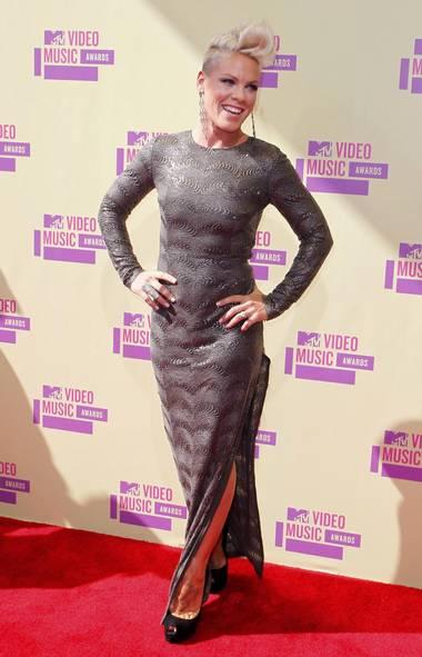 Singer Pink (DANNY MOLOSHOK/REUTERS)