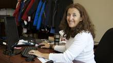 """A lot of opportunities will be presented as this happens, and it's up to the individuals as to how they respond to it,"" says Nelia Pacheco, a sales analyst at Trimark Sportswear. (Rosa Park for The Globe and Mail/Rosa Park for The Globe and Mail)"