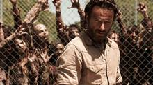 An image of Andrew Lincoln in The Walking Dead.