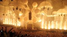 At Sensation events, the hipness of the DJ's playlist comes a firm second to the sheer sense of spectacle.