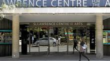 The St. Lawrence Centre for the Arts on Front St E., Toronto. (Fernando Morales/The Globe and Mail/Fernando Morales/The Globe and Mail)