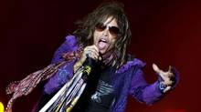Steven Tyler performs with Aerosmith in June 2010. (Reuters/Claudio Bresciani/Scanpix/Files)