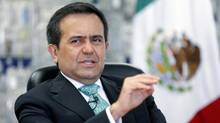 Mexican Economy Minister Ildefonso Guajardo is pictured in this file photo on August 16, 2013. (Tomas Bravo/REUTERS)