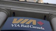 The Via Rail station is seen in Halifax on June 13, 2013. Via Rail has named a new chief executive officer little more than a week after a senior federal cabinet minister called for new leadership at the Crown corporation. Yves Desjardins-Siciliano is taking over from Steve Del Bosco, who had been doing the job on an interim basis since the start of this year. (Andrew Vaughan/THE CANADIAN PRESS)