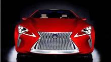 Lexus LF-LC concept (Toyota)