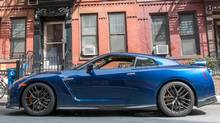 GODZILLA REINCARNATE The people of Manhattan had no idea what was coming when writer Peter Cheney arrived in the roaring Nissan GT-R. (PETER CHENEY)