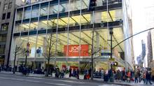 A linchpin of Joe Fresh's aggressive foray into the U.S., the Canadian fast-fashion brand's new Manhattan flagship has a prominent midtown presence. Shoppers recently camped out overnight to get in. (Handout/Handout)