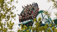 The industry spends heavily on new attractions, such as the Leviathan roller coaster at Canada's Wonderland, to keep visitors coming back. (Philip Cheung for The Globe and Mail)