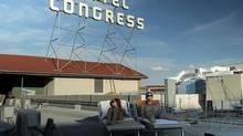 Nadia Litz and Phillip Riccio star in Hotel Congress