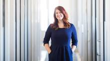 Shannon Lee Simmons, a Toronto-based financial planner and financial blogger. (Tim Fraser/The Globe and Mail)