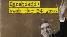 Conservative attack at on Liberal Leader Michael Ignatieff