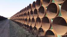 Inter Pipeline Ltd., whose customers include big oil sands players, has threatened to slap liens on crude oil it transports and is seeking letters of credit from shippers with ratings that have been chopped below investment grade. (Alex Panetta/THE CANADIAN PRESS)