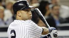 New York Yankees shortstop Derek Jeter is a prime example of a talented recruit who was identified early on in his career as a potential superstar within the Yankees organization. (MIKE SEGAR)