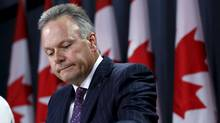 Bank of Canada Governor Stephen Poloz takes part in a news conference upon the release of the Monetary Policy Report in Ottawa, Canada July 15, 2015. (CHRIS WATTIE/REUTERS)