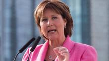 British Columbia Premier Christy Clark in Vancouver, B.C., on Friday March 18, 2016 (DARRYL DYC/THE CANADIAN PRES)