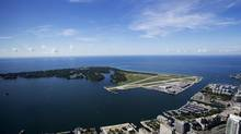 Billy Bishop Toronto City Airport is pictured on July 26, 2013. (Michelle Siu/THE CANADIAN PRESS)